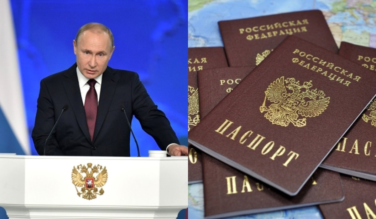 Russian passport to all residents of Donbass