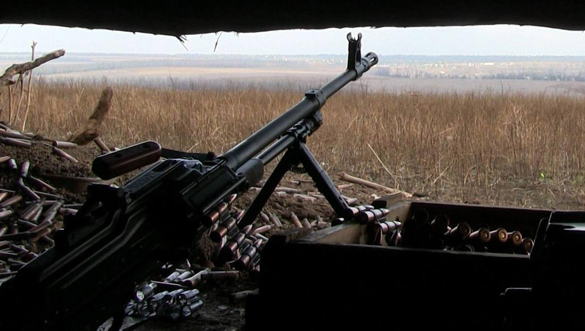 the war in the Donbass